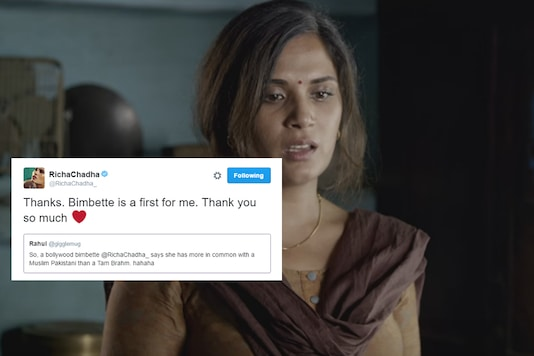 Richa Chadha got Trolled For Saying She has a Lot in Common With Fawad Khan