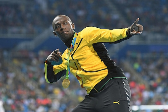 Usain Bolt. (Getty Images)