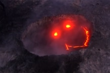 'Passive Aggressive' Volcano Flashes Smiley Face While Erupting