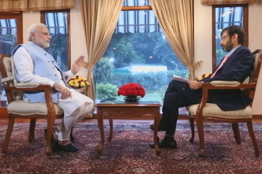 Prime Minister Narendra Modi in an interview with Network18 Group Editor Rahul Joshi.