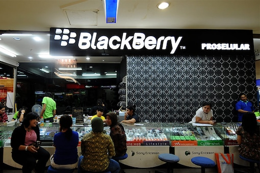 BlackBerry wins right to sell secure messaging tools to U.S. government (photo for representation, image: News18)