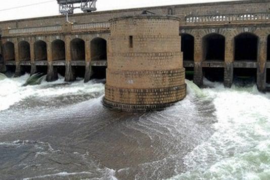 File photo of Cauvery river.(PTI)