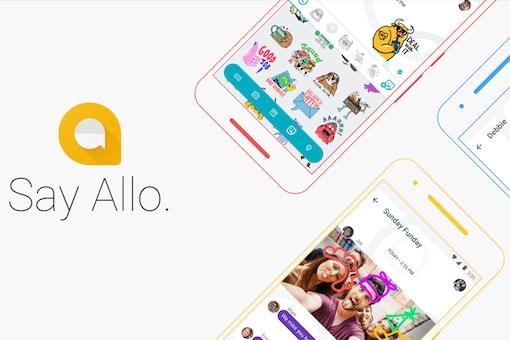 Google Allo has the highest score of users in India. (Image: Google Allo)