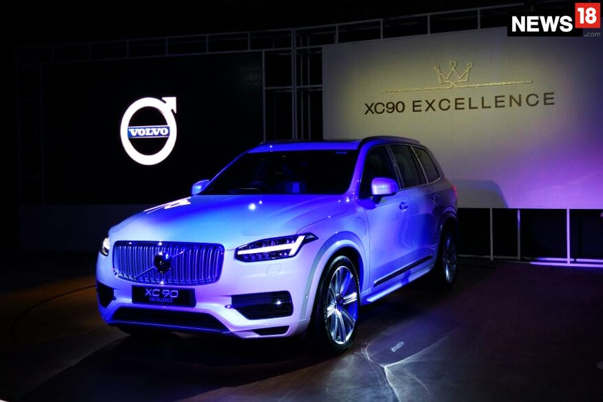 Volvo  XC90 T8 Excellence. (Image: News18.com)