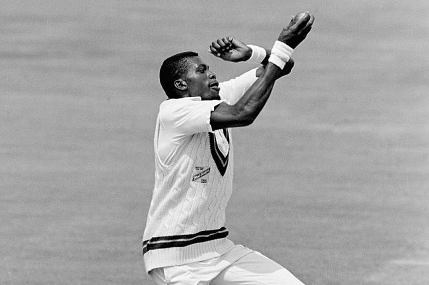 Curtly Ambrose. (Getty Images)