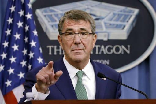In this Aug. 29, 2016, file photo, Defense Secretary Ash Carter appears at a news conference at the Pentagon. (Photo: AP)