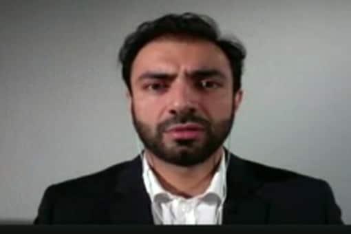 A screen grab of  Brahamdagh Bugti.