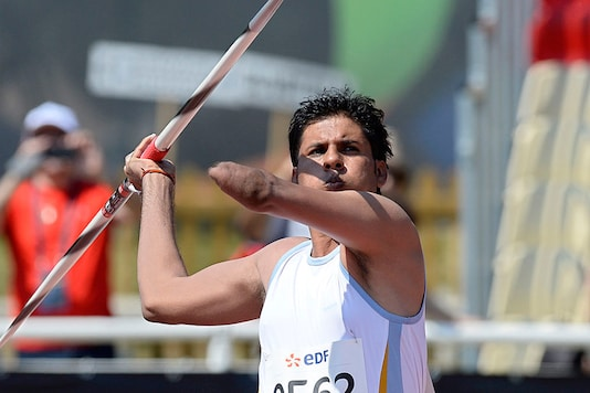A file photo of javelin thrower Devendra Jhajharia, who became India's first Paralympic gold medallist in Athens 2004. (Getty Images)