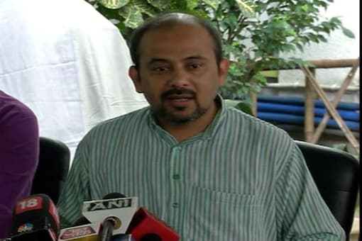 File Image of Delhi AAP Convener Dilip Pandey.