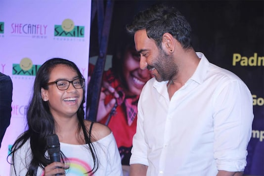 Ajay Devgn with daughter Nysa.