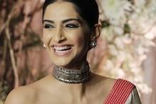 Sonam Kapoor in a Beautiful Abu Jani-Sandeep Khosla Lehenga is Giving Us All the Wedding Vibes