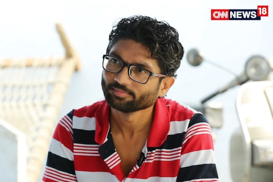 File photo of Dalit leader Jignesh Mevani.
