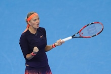 Kvitova Dumps Out Defending Champion Muguruza in China Open