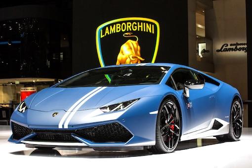 Lamborghini Huracan Avio. (Photo: AFP Relaxnews)