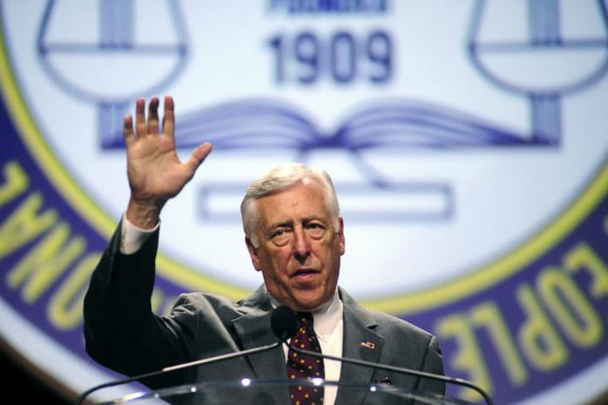 Top Democratic Leader Steny Hoyer to Join Trump-Modi Rally in Houston on September 22