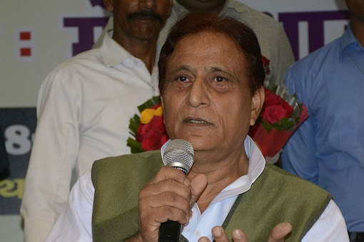A file photo of  SP leader Azam Khan. (Getty Images)
