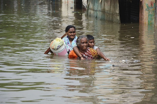 File photo of the 2015 Chennai floods. (Photo Credit: Getty Images)