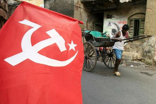File image of CPI(M) flag. (Image: Getty Images)