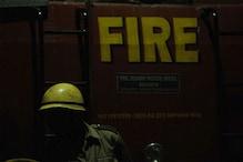 Fire Breaks Out in Delhi's Barakhamba Road