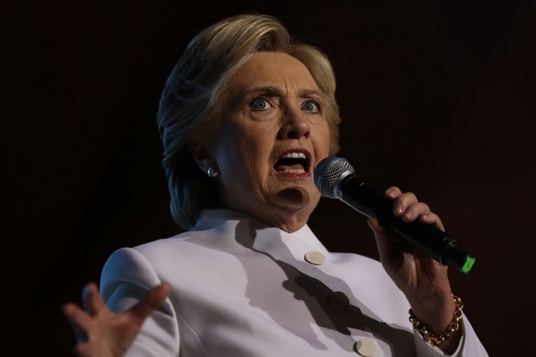 Democratic presidential candidate Hillary Clinton. (File photo: Getty Images)