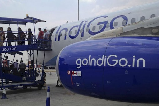 File photo of an IndiGo Airlines flight.