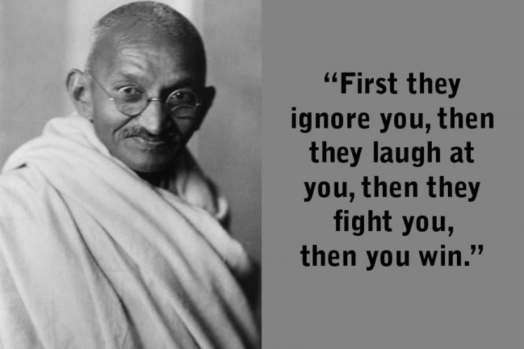 Ghandi Quote Mesmerizing Gandhi Jayanti 48 Quotes By Mahatma Gandhi To Inspire The Leader