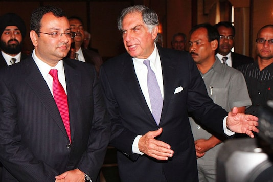 A file picture of Ratan Tata and Cyrus Mistry. (Photo: Getty Images)