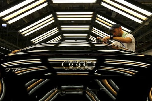 Audi logo. Image used for representational purpose only. (Photo: Reuters)