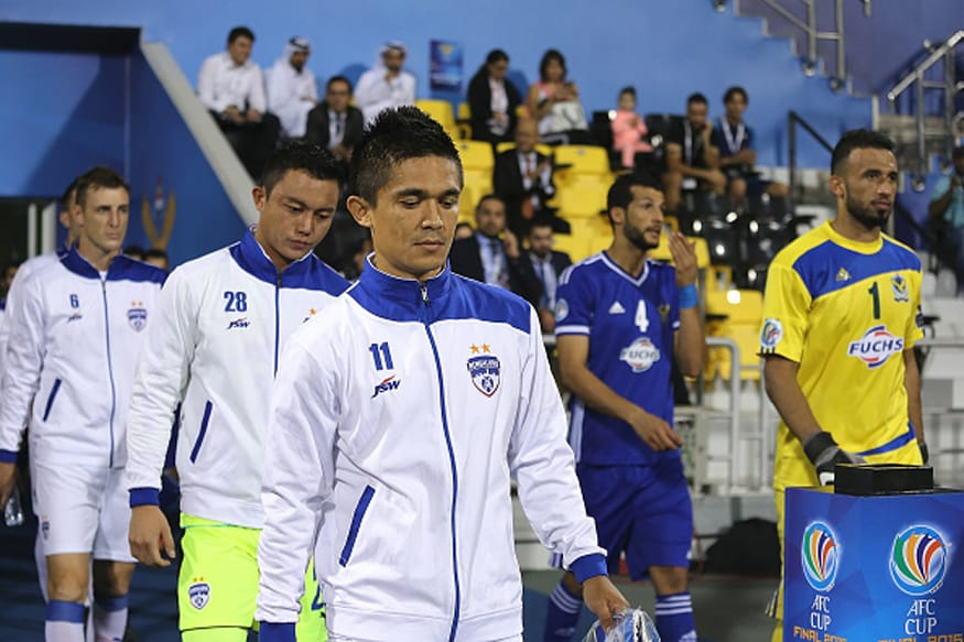 Bengaluru FC at AFC Cup Final. (Getty Images)