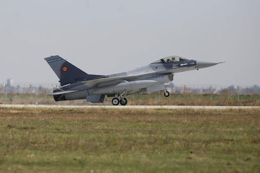 A file image of F-16 plane.(Reuters)