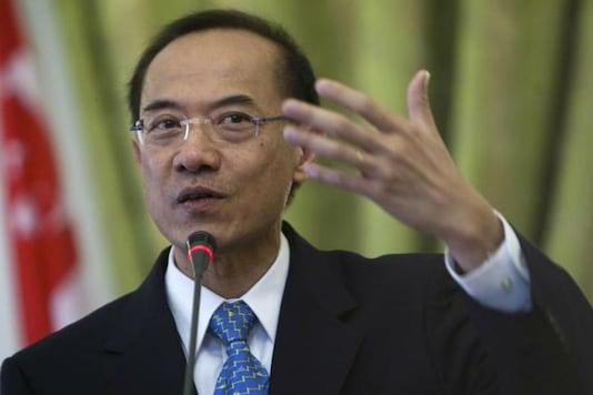 File Photo of Chancellor of Nalanda University George Yeo. (Reuters)