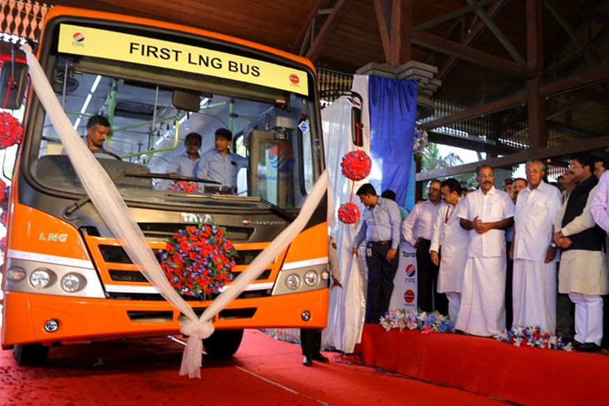 With India Getting Its First LNG-Powered Bus, Is It the Fuel