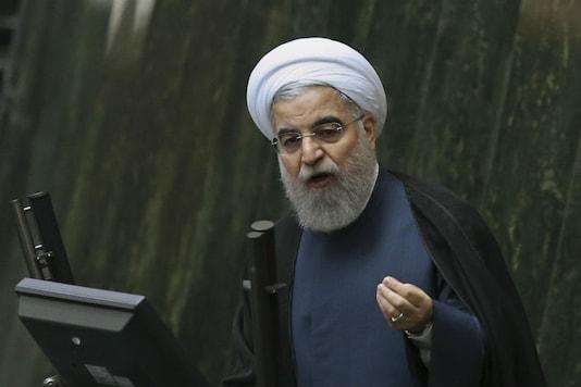 File Photo: Iranian President Hassan Rouhani  (AP)