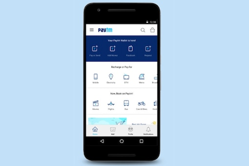 While they are able to recharge their Paytm wallets by using credit or debit cards, the Android app is not responding to payment requests to merchants. (Image: Paytm)