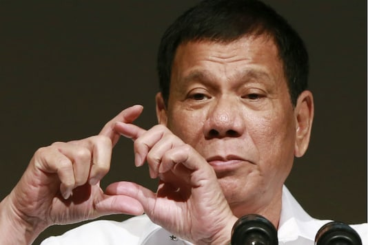 A file photo of Philippine President Rodrigo Duterte. (Photo: AP)