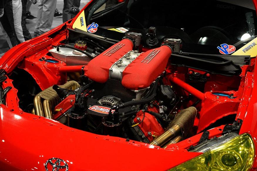 SEMA-2016-Gumout-GT4586---engine-detail
