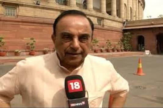 File photo of BJP leader Subramanian Swamy.