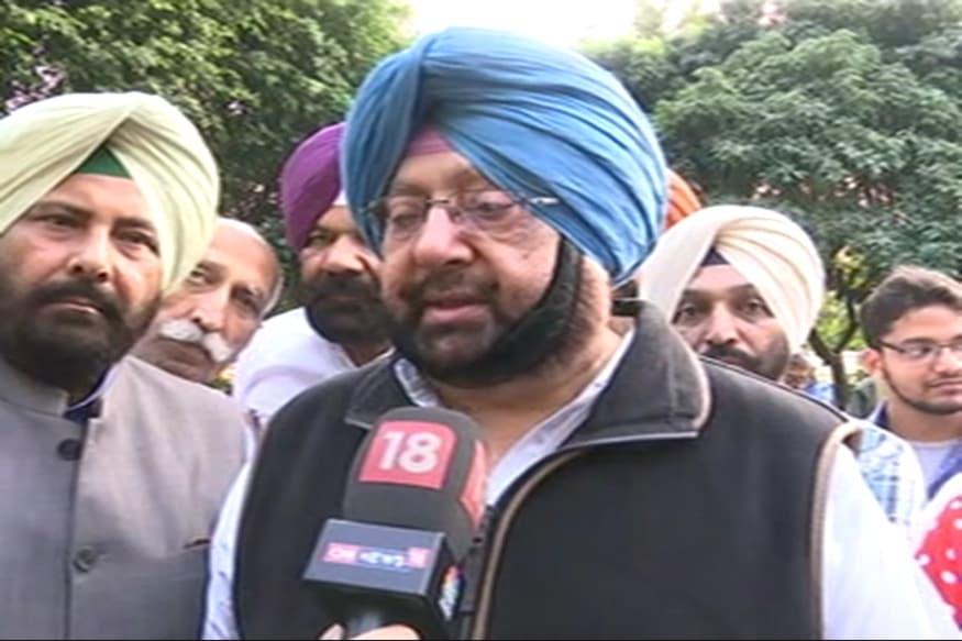 Sidhu Sends Resignation to CM's Home Month After Quitting, Capt Amarinder Says Will Take a Look