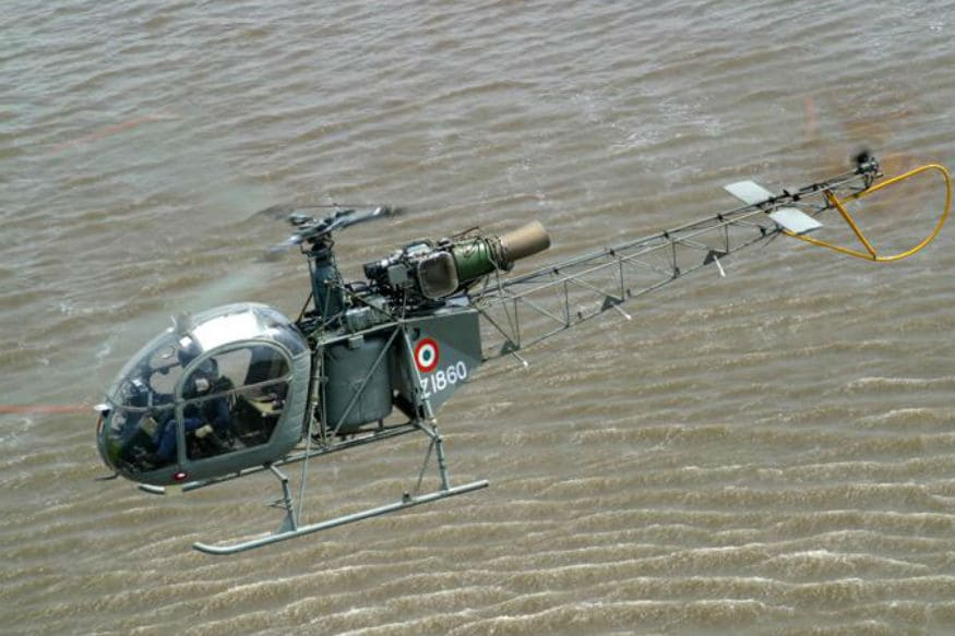 Cheetah Helicopter of the Indian Air Force