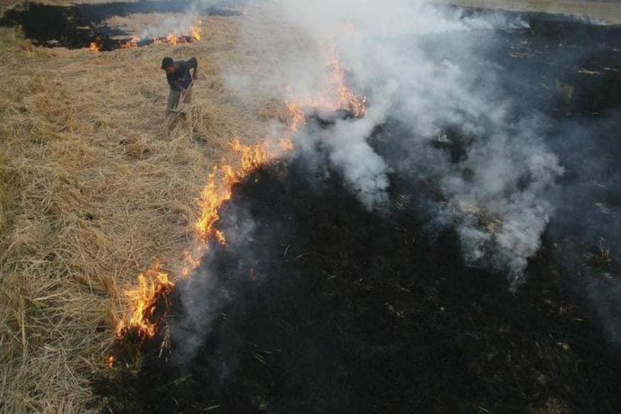 India Breathing Poison from Own Crop-waste Fires and Pakistani 'Cross-border Infiltration'