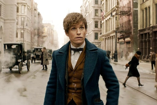 A still from the film Fantastic Beasts and How To Find Them.