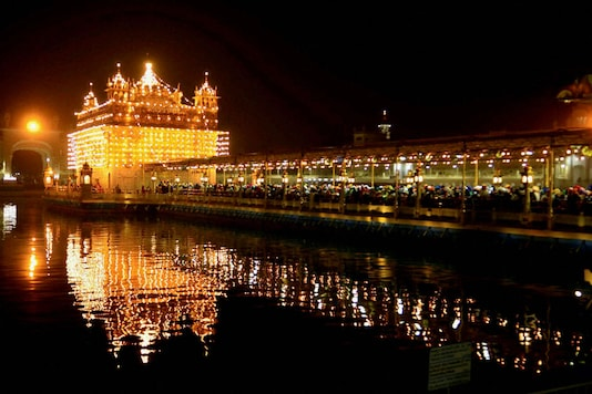 File photo of the Golden Temple in Amritsar. (PTI)