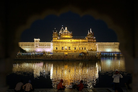 Earlier in the day, pro-Khalistan slogans were raised in the premises of the Golden Temple here to mark the 36th anniversary of Operation Bluestar. (Reuters)