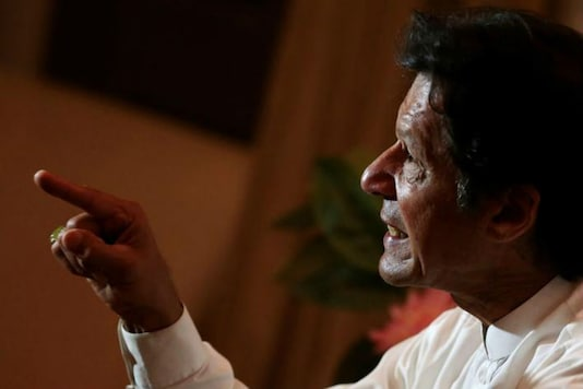 File picture of Pakistan PM Imran Khan (Reuters)