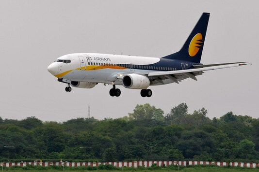 File photo of Jet Airways.