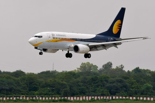 File photo of Jet Airways.