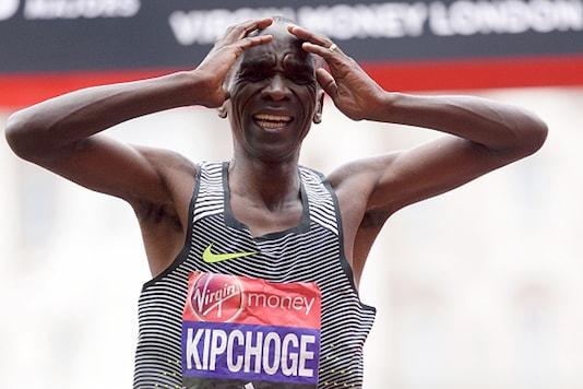 A file photo of Kenya's marathon runner Eliud Kipchoge. (Getty Images)