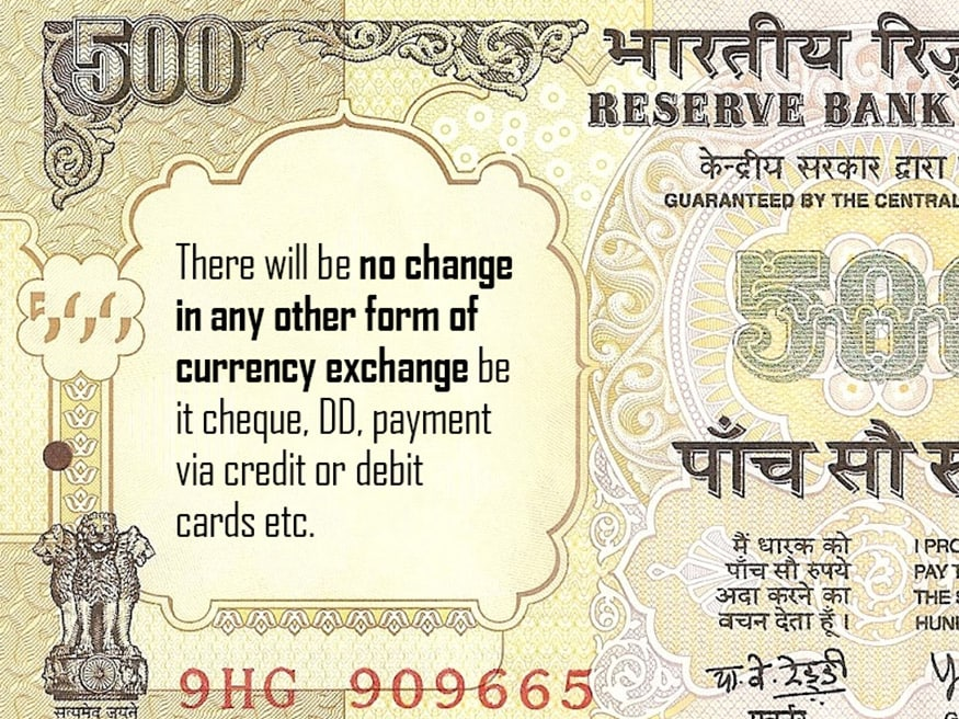 Rs 500 and Rs 100 notes must know facts