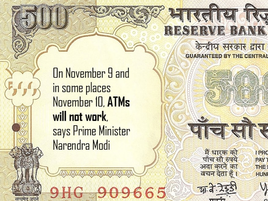 Rs 500 and Rs 100 notes what to do with them