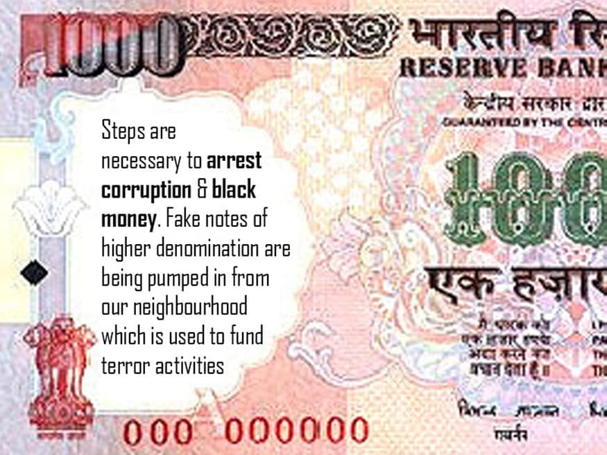 Rs 500 and Rs 100 notes scrapped